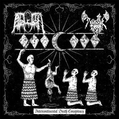 Abduction / Nocturnal Prayer - Intercontinental Death Conspiracy LP