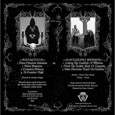 Abduction / Nocturnal Prayer - Intercontinental Death Conspiracy LP 2