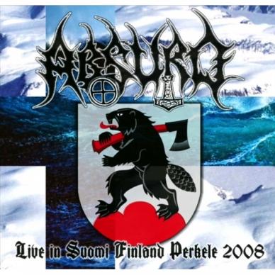 Absurd - Live in Suomi Finland Perkele 2008 Digi CD