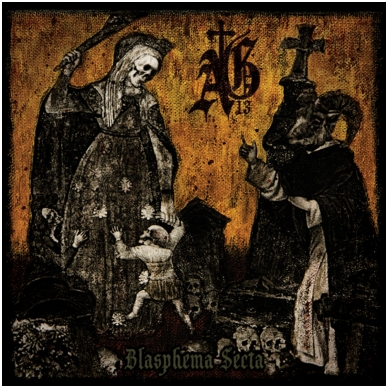 Abysmal Grief - Blasphema Secta Digi CD