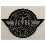 AC/DC - Rock N Roll Will Never Die Patch