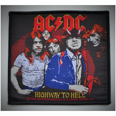 AC / DC - Highway To Hell Patch | Merchandise | -IPR666 Shop