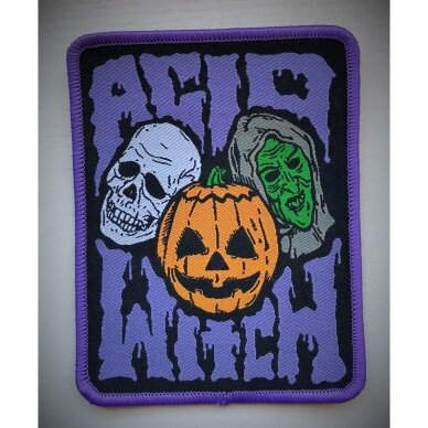 Acid Witch - Halloween Patch 2
