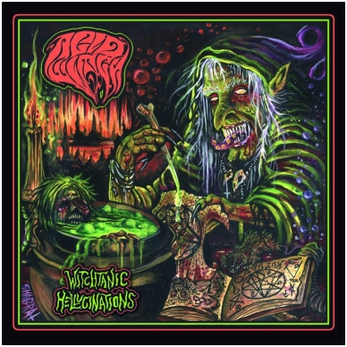 Acid Witch - Witchtanic Hellucinations Digi CD