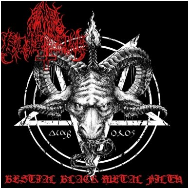 Anal Blasphemy - Bestial Black Metal Filth CD
