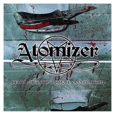 Atomizer - Death - Mutation - Disease - Annihilation CD