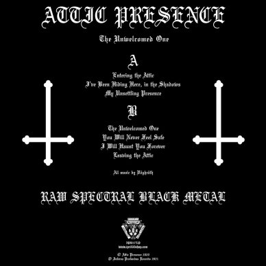 Attic Presence - The Unwelcomed Ones LP 2