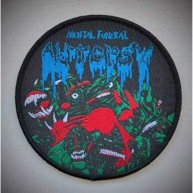 Autopsy - Mental Funeral Patch
