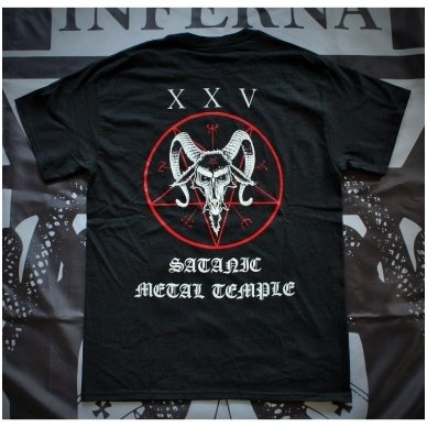Beherit - Satanic Metal Temple T-Shirt 2