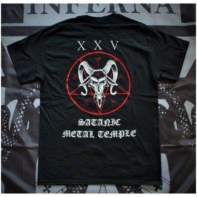 Beherit - Satanic Metal Temple T-Shirt (+ Girlie) 2