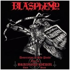 Blasphemy - Desecration of São Paulo - Live in Brazilian Ritual - Third Attack CD