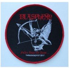 Blasphemy - Fallen Angel Of Doom (Round) Patch
