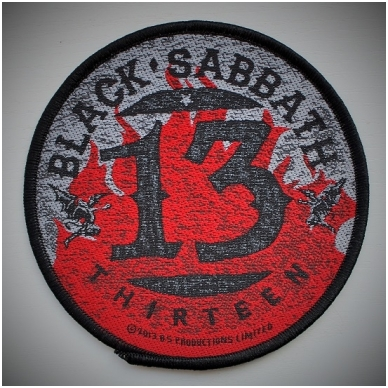 Black Sabbath - 13 / Flames Patch