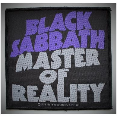 Black Sabbath - Master Of Reality Patch
