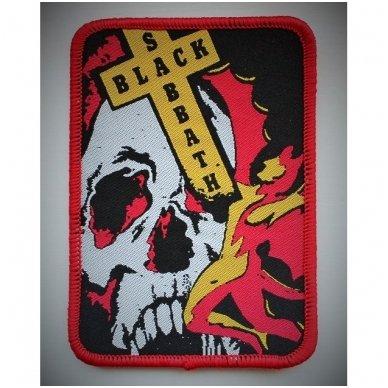 Black Sabbath - Skull Patch 2