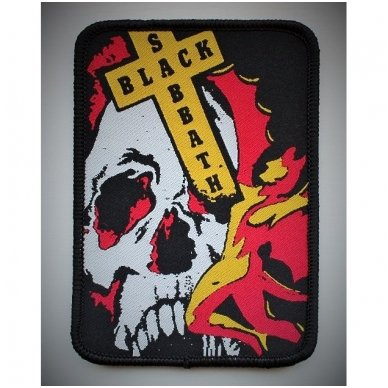 Black Sabbath - Skull Patch