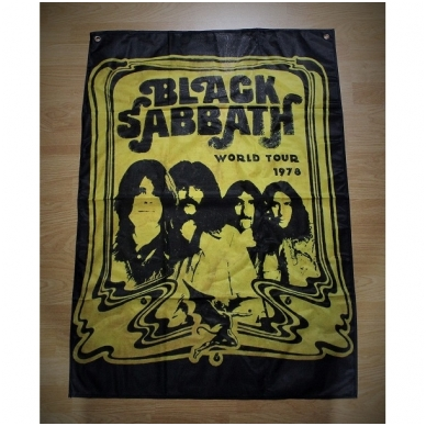 Black Sabbath - World Tour 1978 Flag