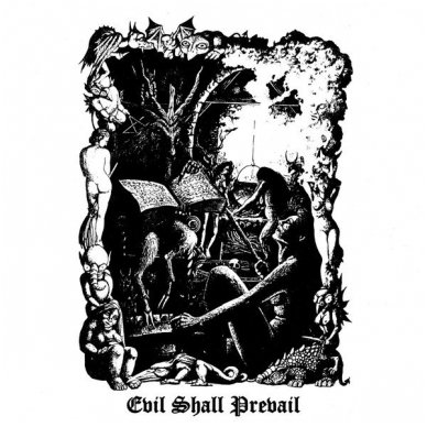 Black Witchery ‎- Evil Shall Prevail CD