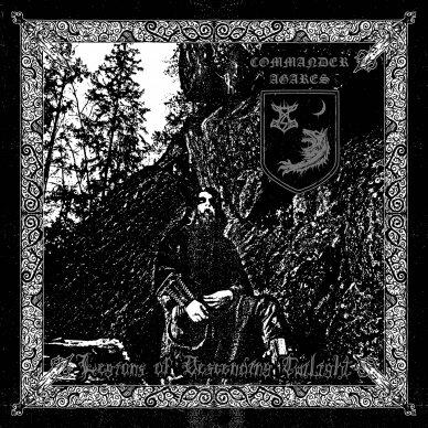 Commander Agares - Legions of Descending Twilight CD