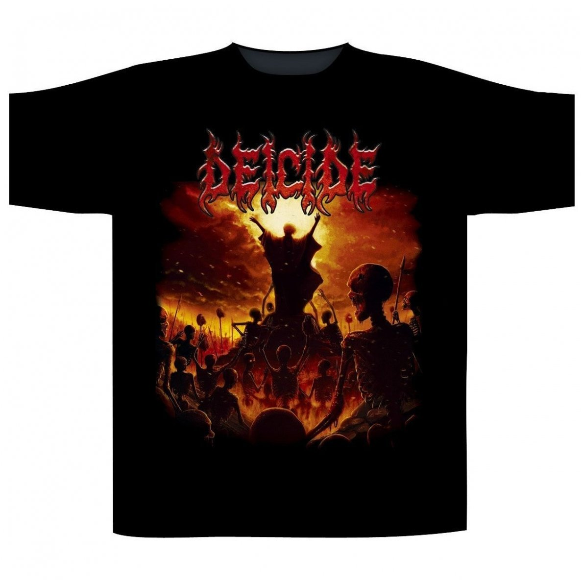 Deicide To Hell With God T Shirt Merchandise Ipr666