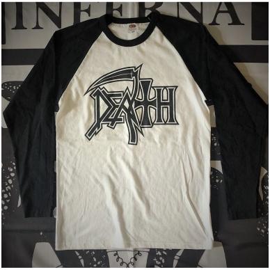 Death - Logo Longsleeve (Baseball)