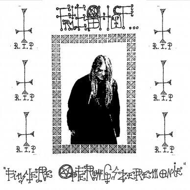 Friedhof - Finstere Opferungszeremonien LP