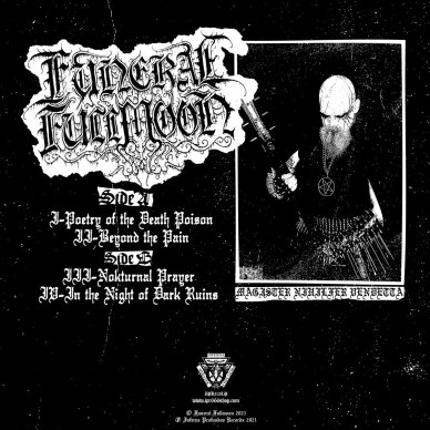 Funeral Fullmoon - Poetry of the Death Poison LP 2