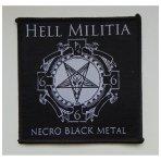 Hell Militia - Necro Black Metal Patch
