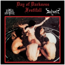 Impaled Nazarene / Beherit ‎- Day Of Darkness Festifall LP