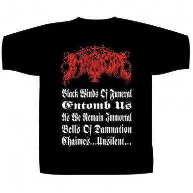Immortal - Throne T-Shirt 2