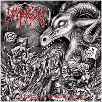Impiety - Worshippers Of The Seventh Tyranny Digi CD