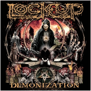 Lock Up - Demonization Digi CD