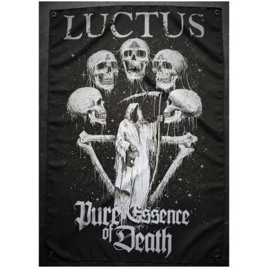 Luctus - Pure Essence Of Death Flag *Pre Order*