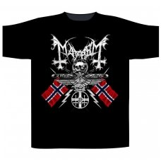 Mayhem - 25 Years Coat Of Arms t-Shirt