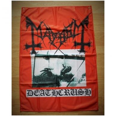 Mayhem - Deathcrush Flag