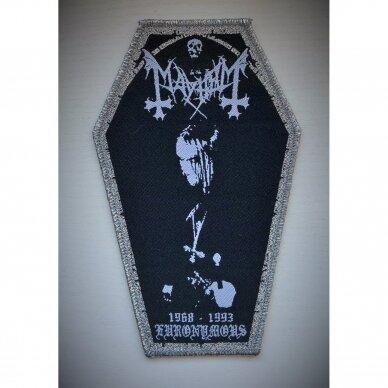 Mayhem - Euronymous Patch