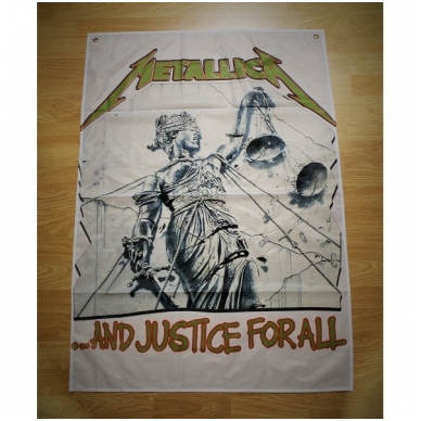 Metallica - And Justice For All Flag