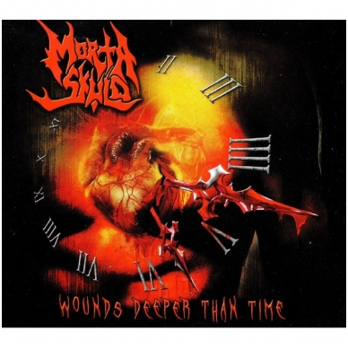Morta Skuld - Wounds Deeper Than Time Digi CD