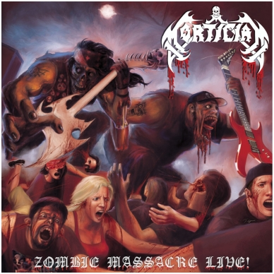 Mortician - Zombie Massacre Live 2LP