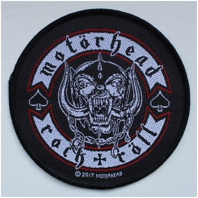Motorhead - Bikers Badge Patch