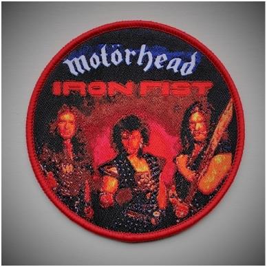 Motorhead - Iron Fist Patch