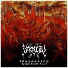Impiety - Terroreign (Apocalyptic Armageddon Command) Digi CD