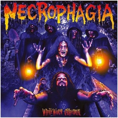 Necrophagia - Whiteworm Cathedral Digi CD