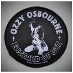 Ozzy Osbourne - Blizzard Of Ozz Patch