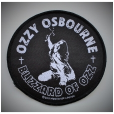 Ozzy Osbourne - Blizzard Of Ozz Patch