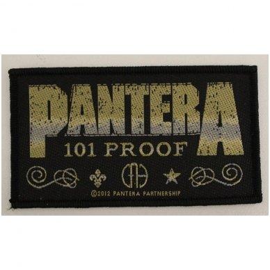 Pantera - Whiskey Label Patch