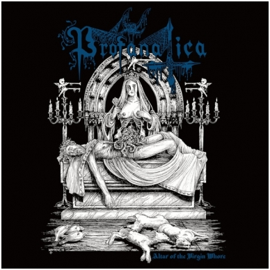 Profanatica ‎- Altar Of The Virgin Whore LP