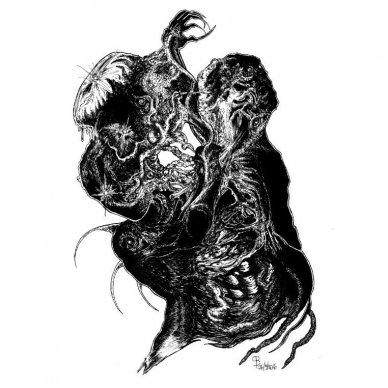 Reek of the Unzen Gas Fumes/ Thy Sepulchral Moon - Split CD