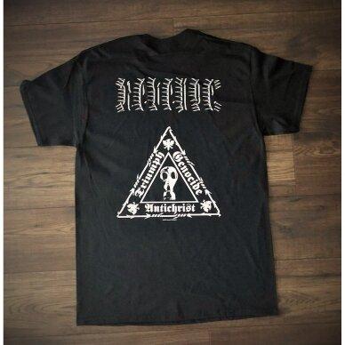 Revenge - Triumph. Genocide. Antichrist. T-Shirt 2