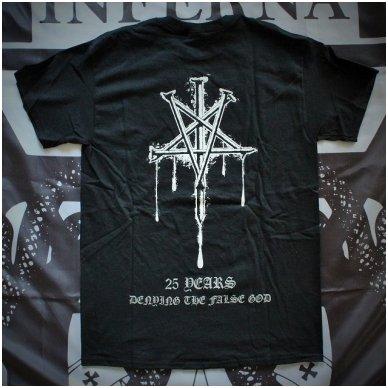Rotting Christ - 25 Years Denying The False God T-Shirt (+Girlie) 2